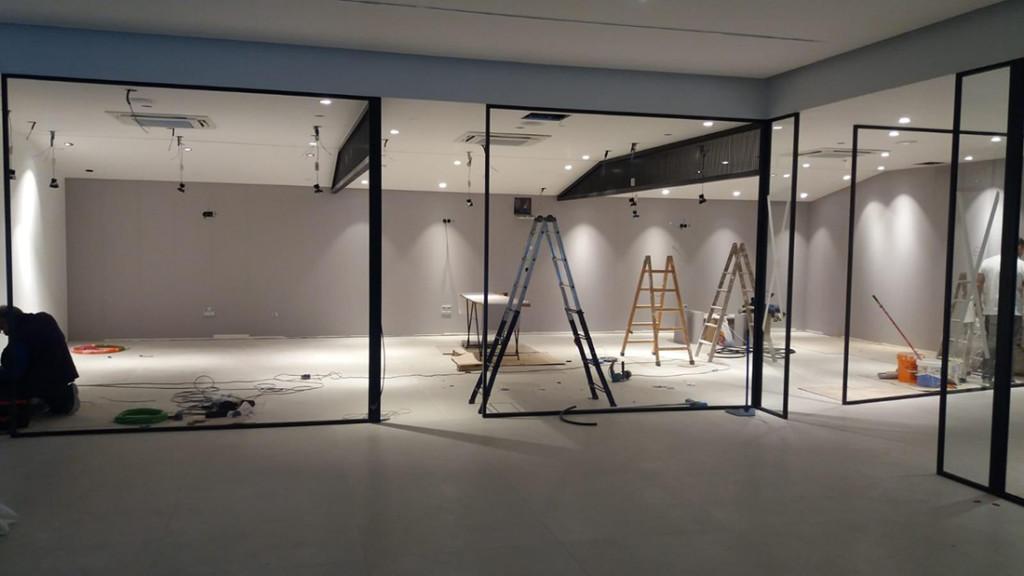 """Showroom """"MOBLIBÉRICA"""" (en ejecución)"""